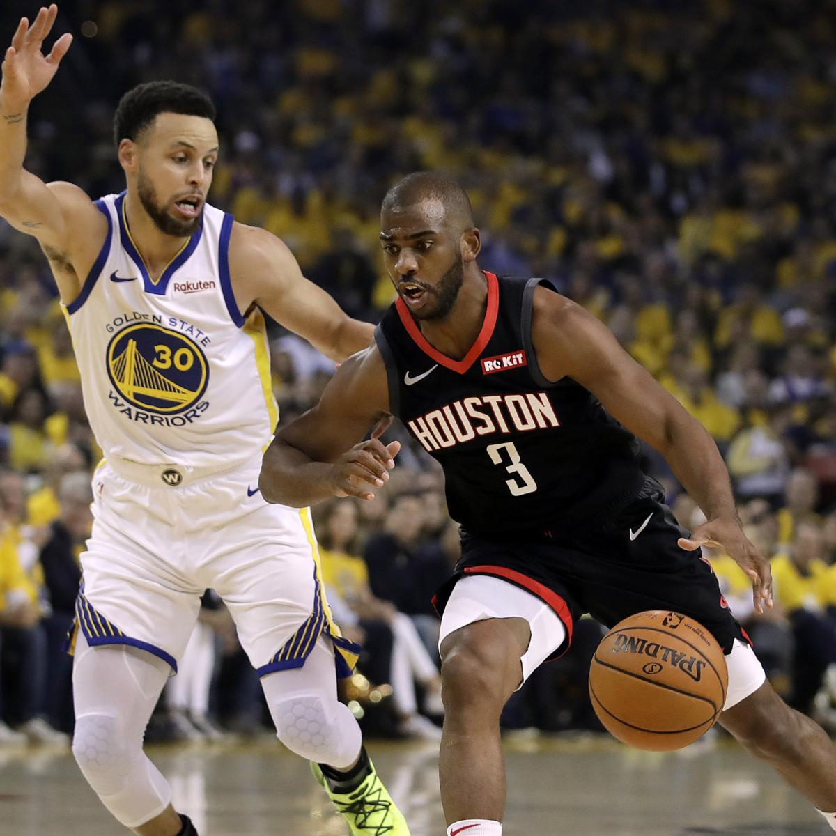 Houston Rockets point guard Chris Paul reportedly had Golden State Warriors point guard Stephen Curry kicked off the Toyota Center court Thursday night after finding out the ...