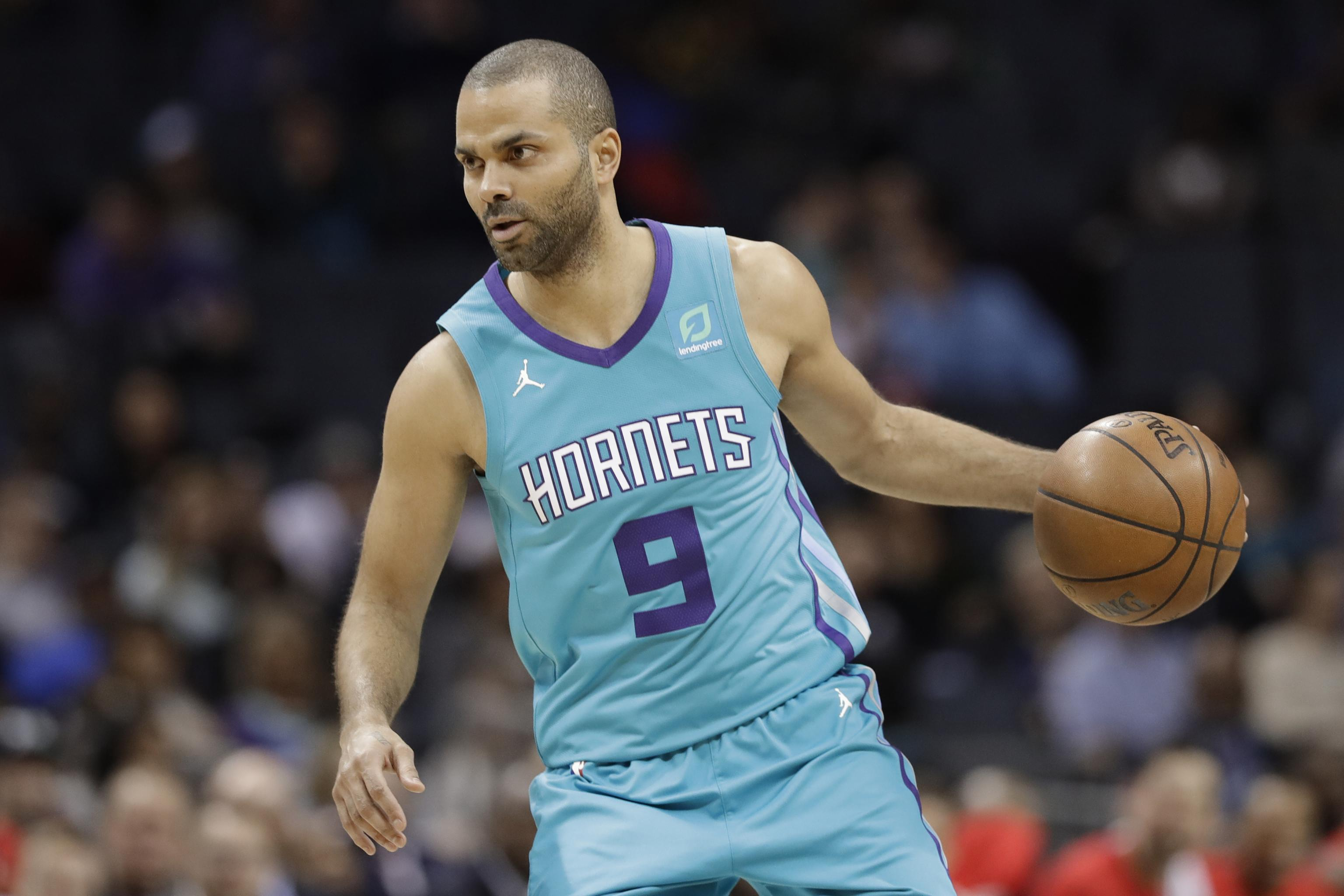 finest selection 12dad 9047b Hornets PG Tony Parker '50-50' on Retiring: 'I Haven't Made ...