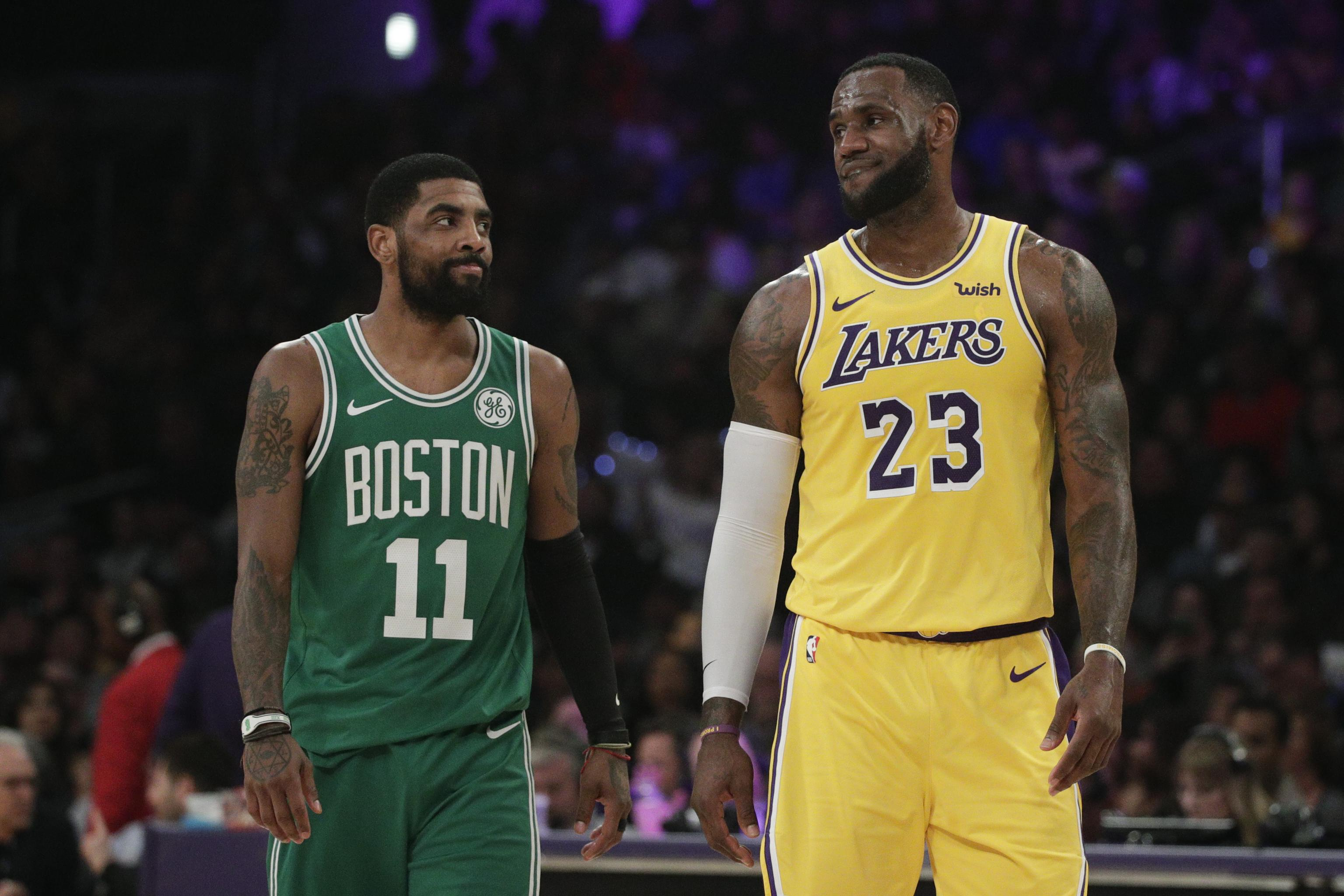 sneakers for cheap 25d90 9f550 Windhorst: Kyrie Irving 'Has Had Discussions' About Joining ...