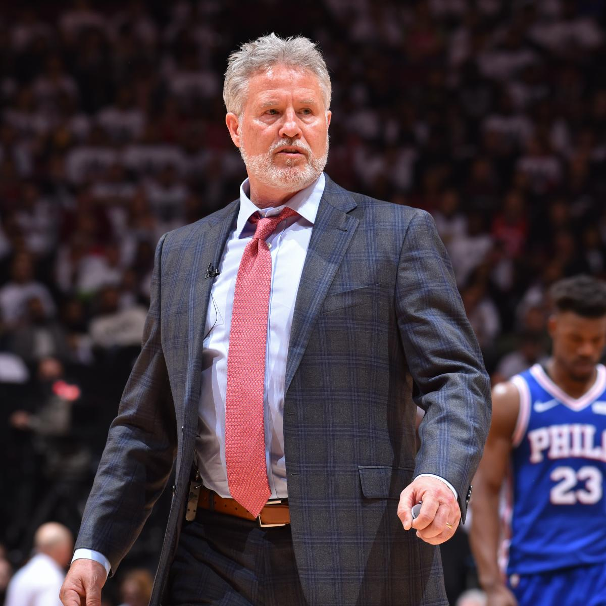 76ers Rumors: Brett Brown Has 'Little Chance of Surviving' Game 7 Raptors Loss