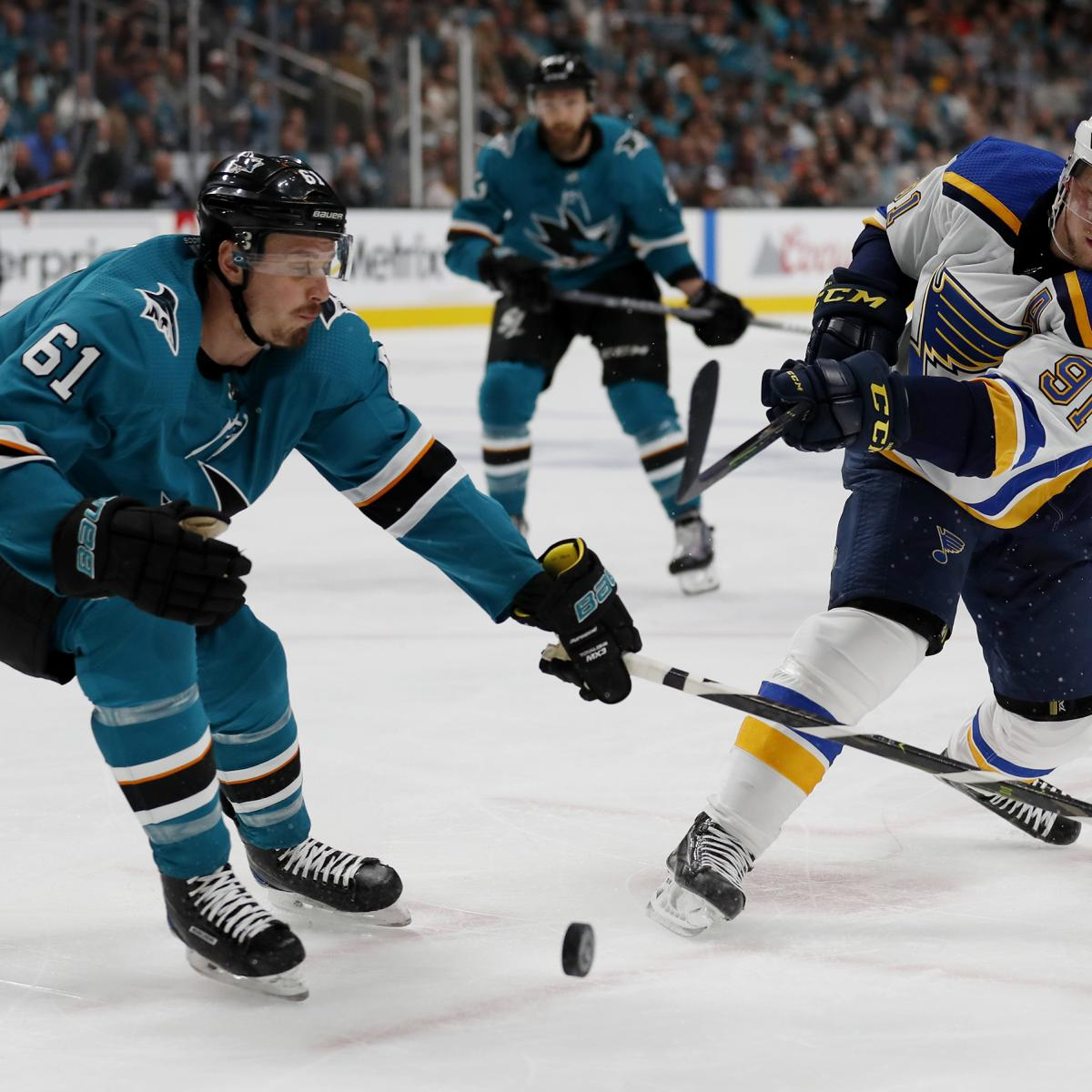 NHL Playoffs 2019: Conference Finals TV Schedule And