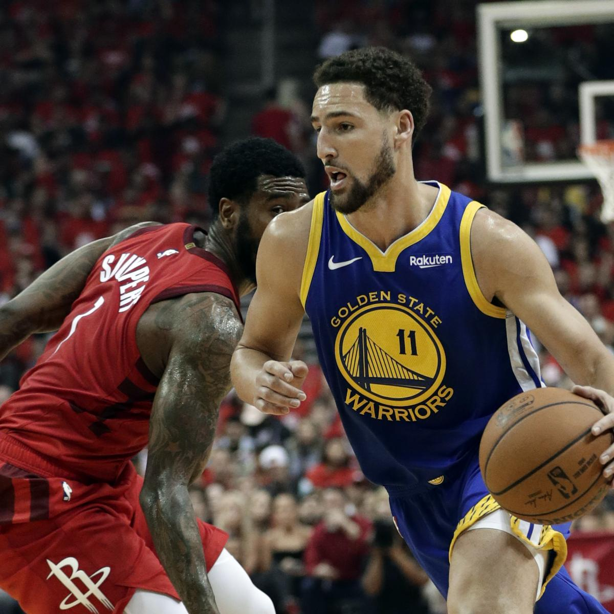 Warriors Come Out To Play Bleacher Report: NBA Finals 2019: Championship Odds And Predictions For