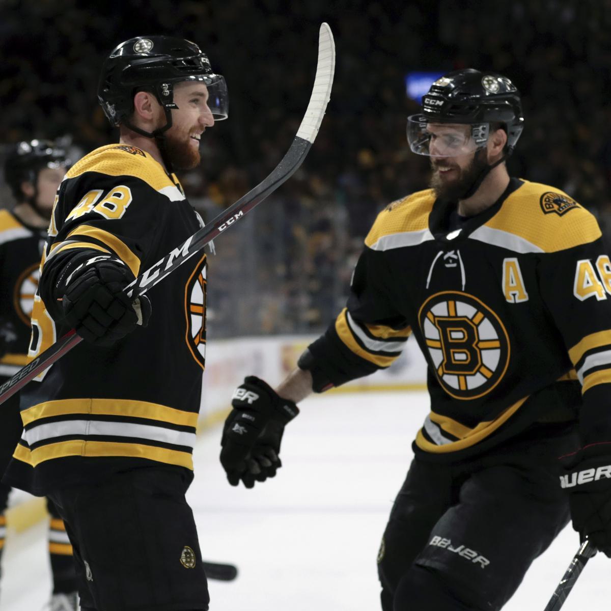Matt Grzelcyk, Bruins Crush Hurricanes 6-2 In Game 2, Take