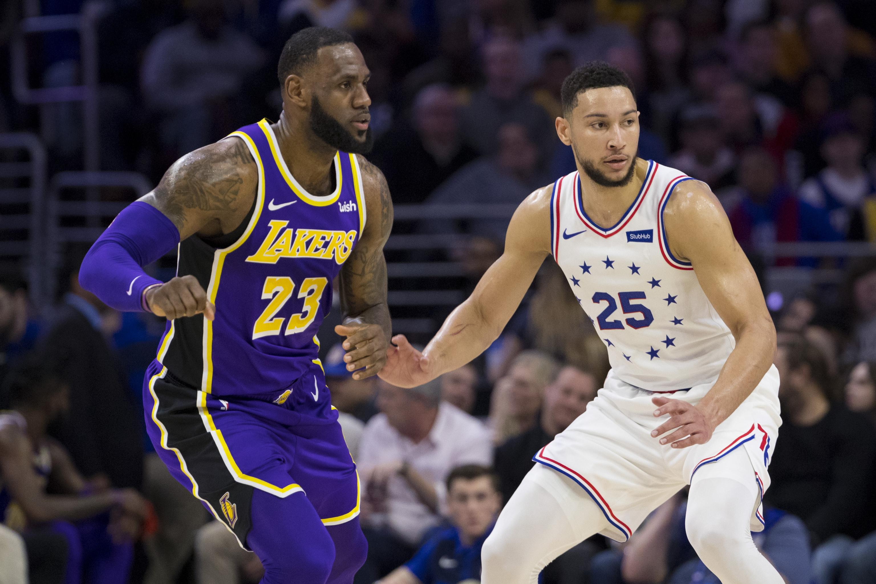 324bd91a6154 NBA Trade Rumors  Exec Thinks 76ers  Might  Explore LeBron James for Ben  Simmons