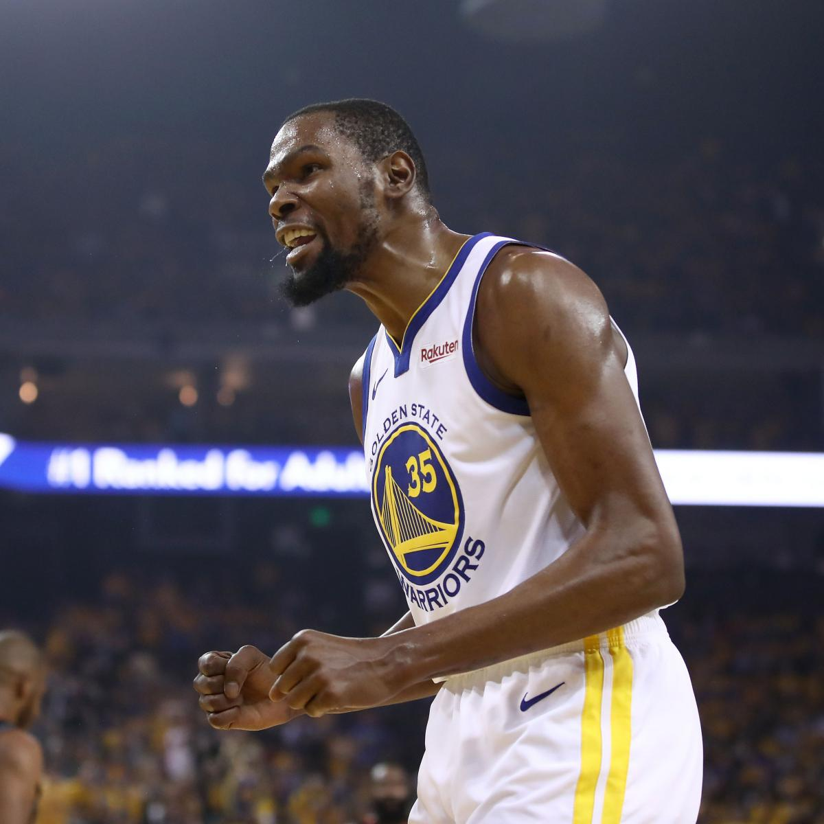 Blazers Injury Report: Report: Warriors' Kevin Durant Likely Out 1st 2 WCF Games