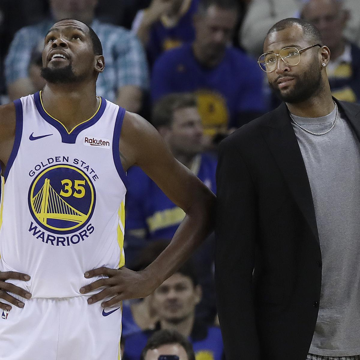 Warriors Kevin Durant Injury Update: Warriors News: Steve Kerr Gives Kevin Durant, DeMarcus