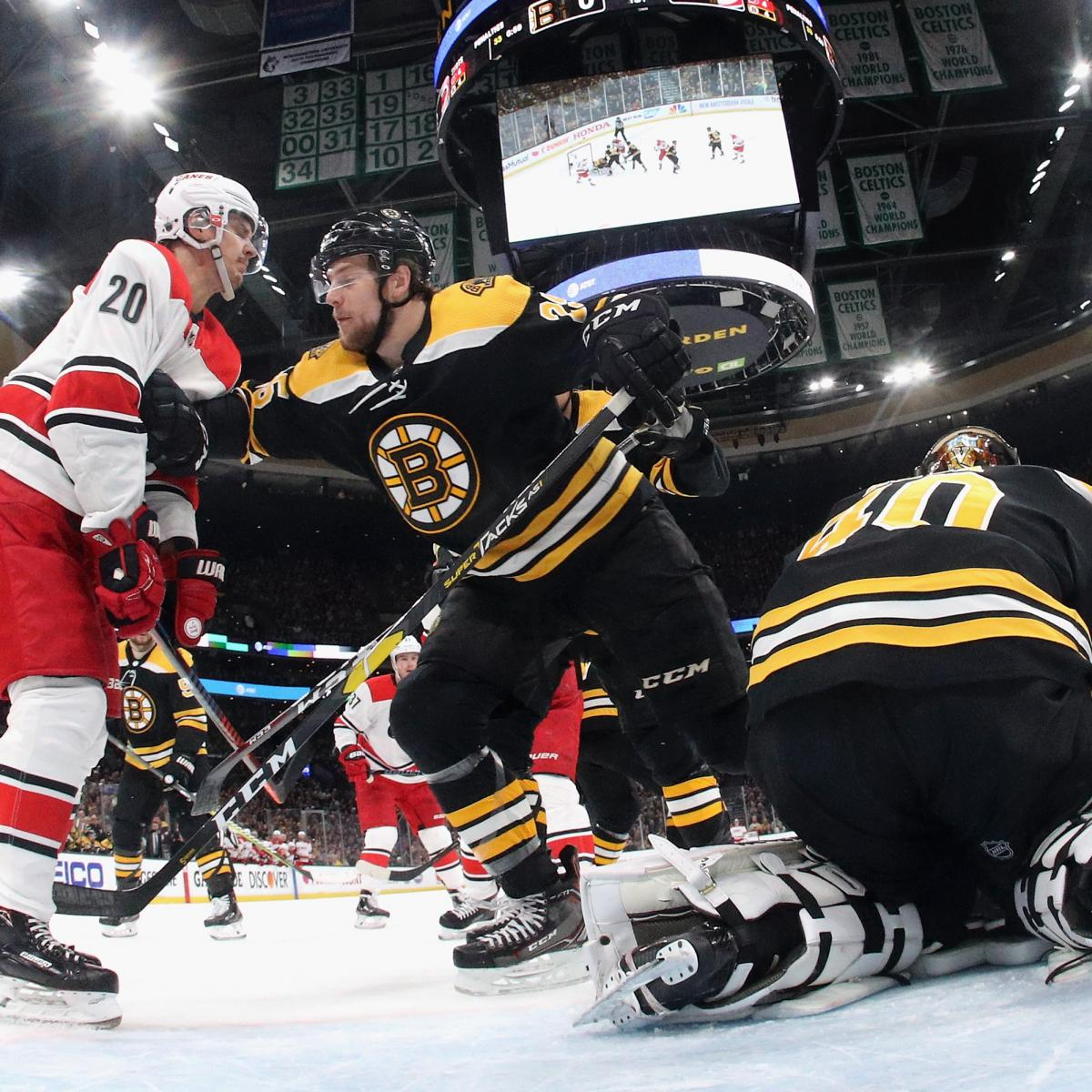 NHL Playoff Bracket 2019: Updated Dates, TV Schedule And