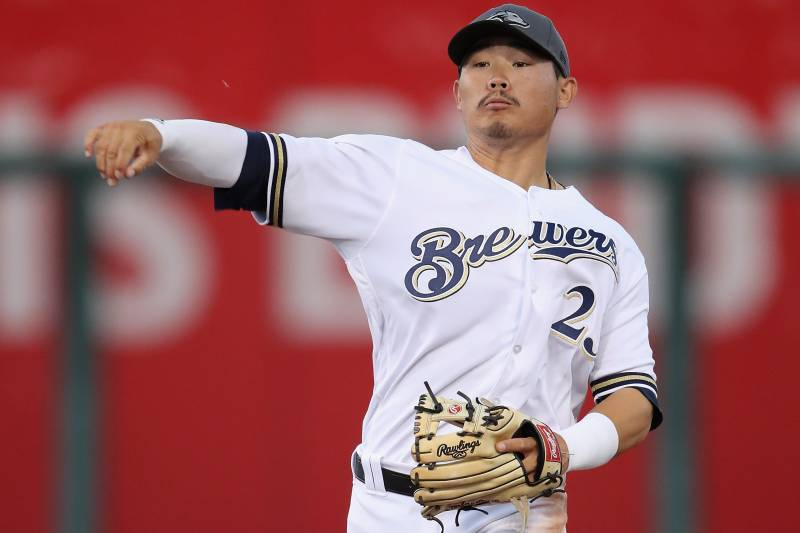 71fd0bab07a Report  Brewers  Top Prospect Keston Hiura Recalled from Triple-A San  Antonio
