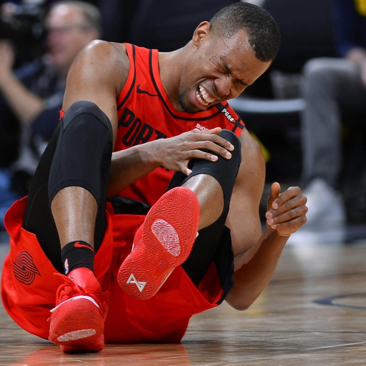 Blazers Injury Report: Trail Blazers' Rodney Hood Active For Game 1 Vs. Warriors