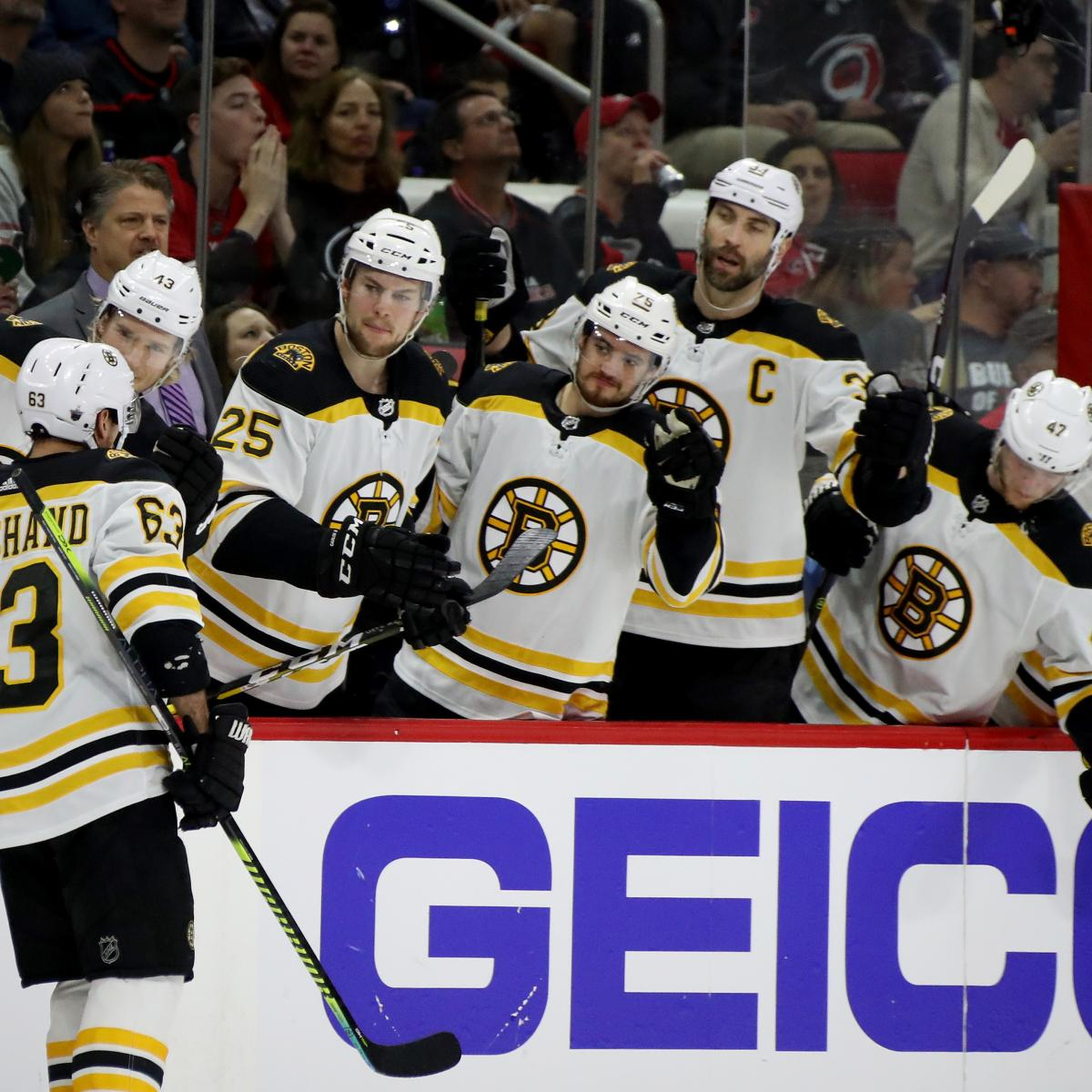 Brad Marchand Fires Bruins To 3-0 Series Lead In Game 3