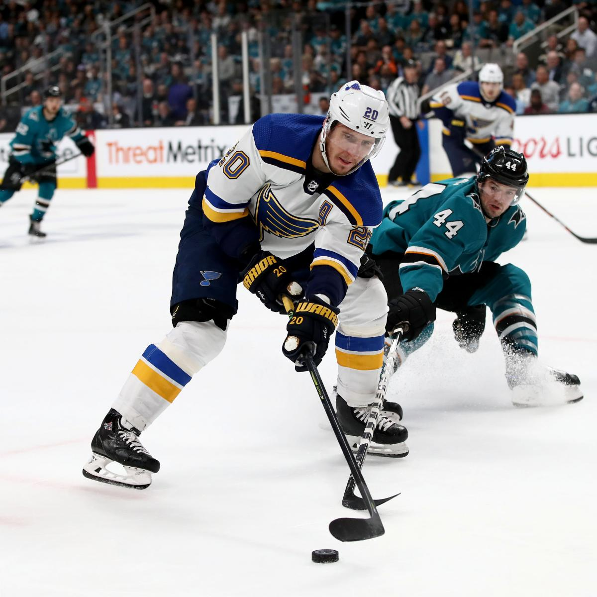 NHL Playoff Schedule 2019: Viewing Info, Predictions For