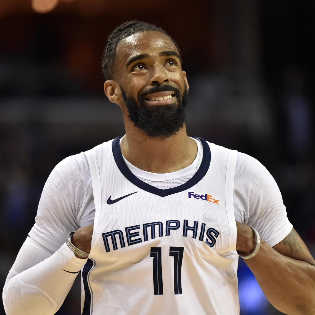 NBA Trade Rumors: Jazz Expected to Make Another Push for Grizzlies' Mike Conley