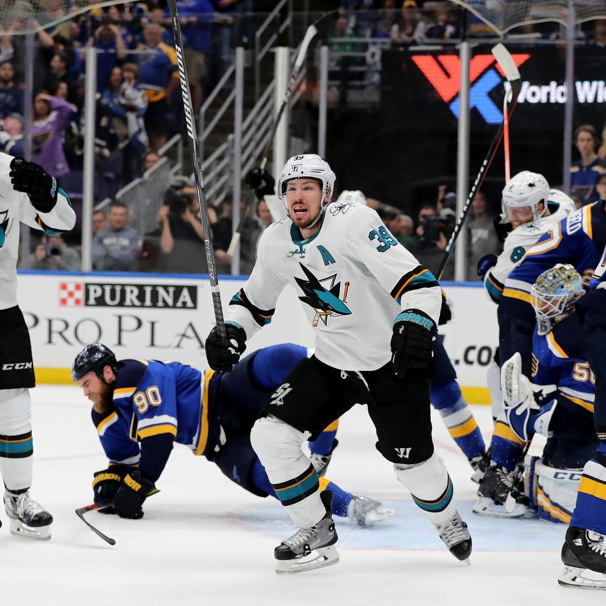 Erik Karlsson OT Winner Powers Sharks to Game 3 Win, 2-1 Series Lead vs. Blues