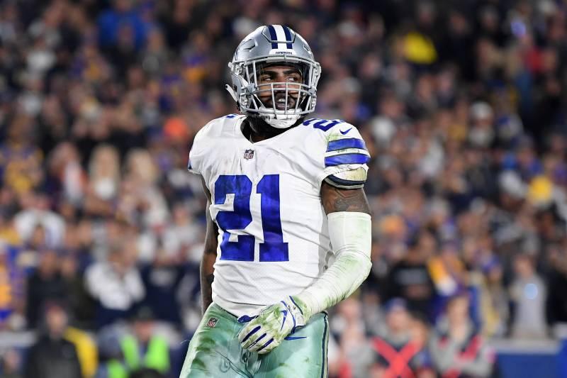official photos 2adbe 22b22 Cowboys' Ezekiel Elliott on Possible Lighter Workload: 'I ...