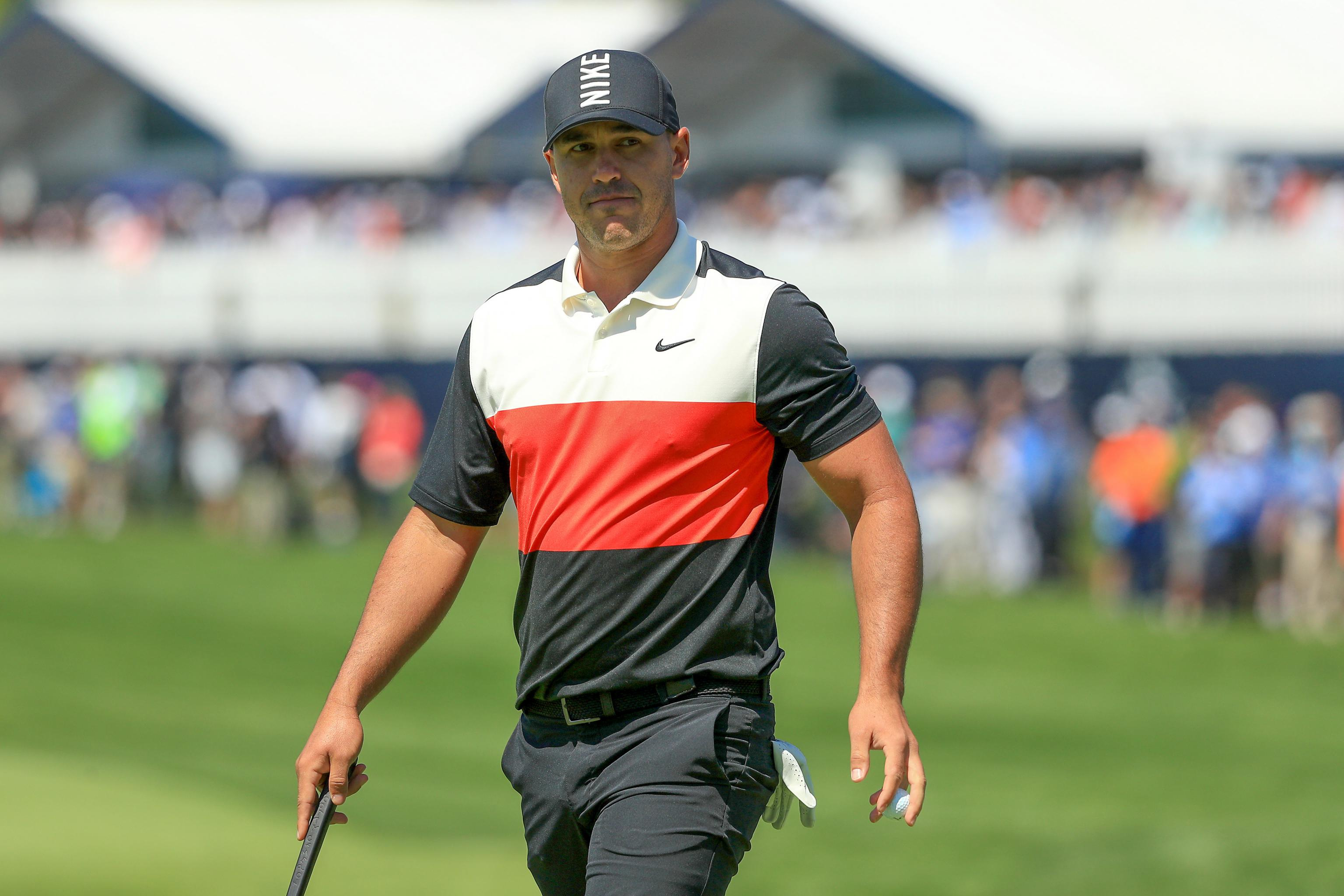 info for reputable site discount PGA Championship 2019: Brooks Koepka Holds 1-Stroke Lead After ...