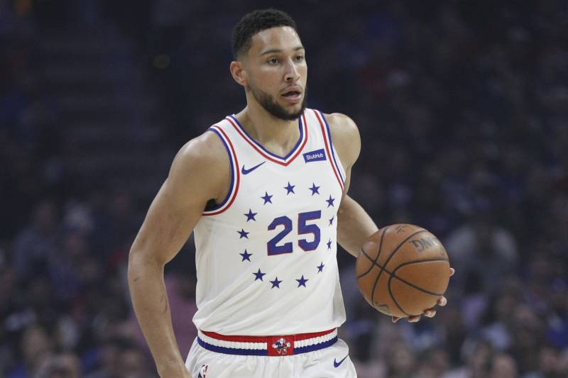 finest selection 27f4b 4be1b 76ers' Ben Simmons Announces He'll Play for Australia in ...