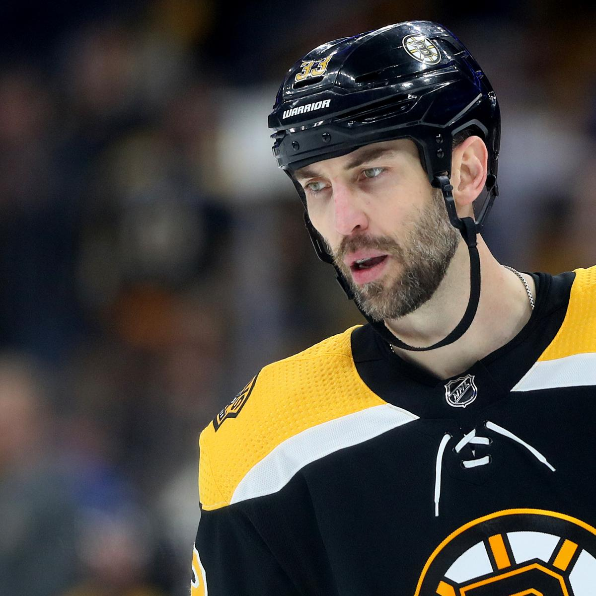 Bruins' Zdeno Chara Out For Game 4 Vs. Hurricanes; Ruled