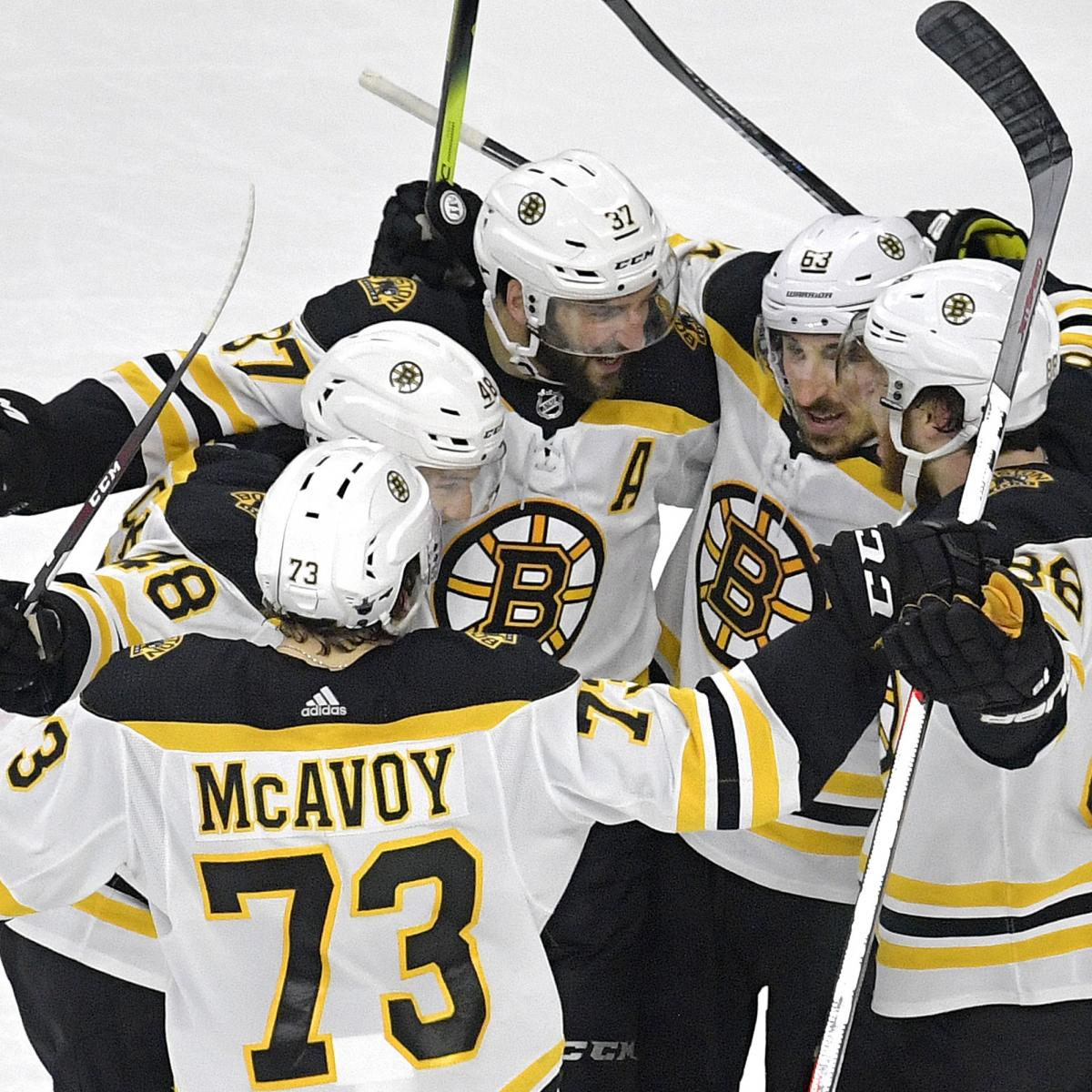 Bruins Complete Sweep Of Hurricanes, Advance To 1st