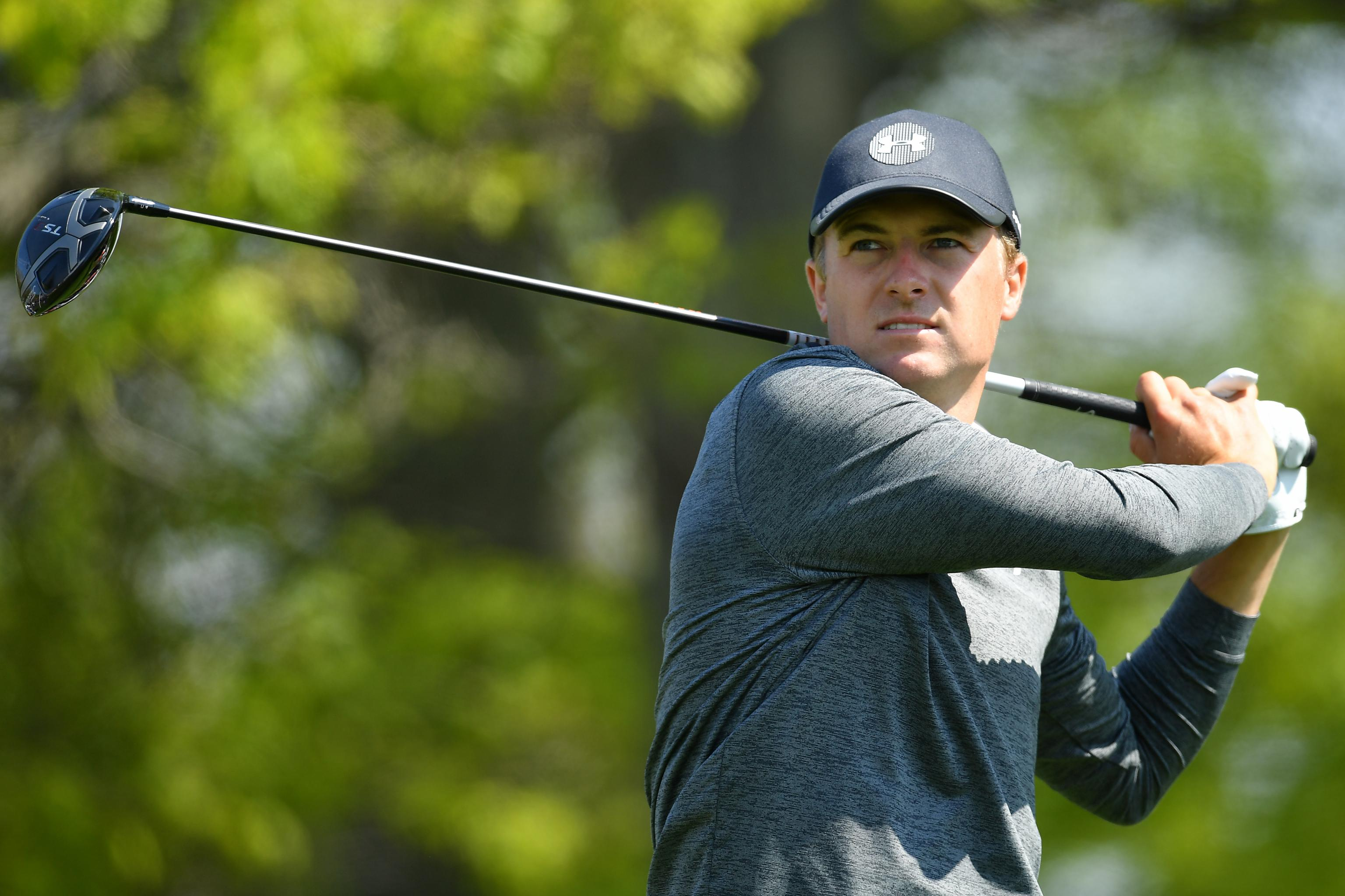 8446953e9b713a Jordan Spieth Among Leaders After Strong PGA Championship 2019 2nd Round