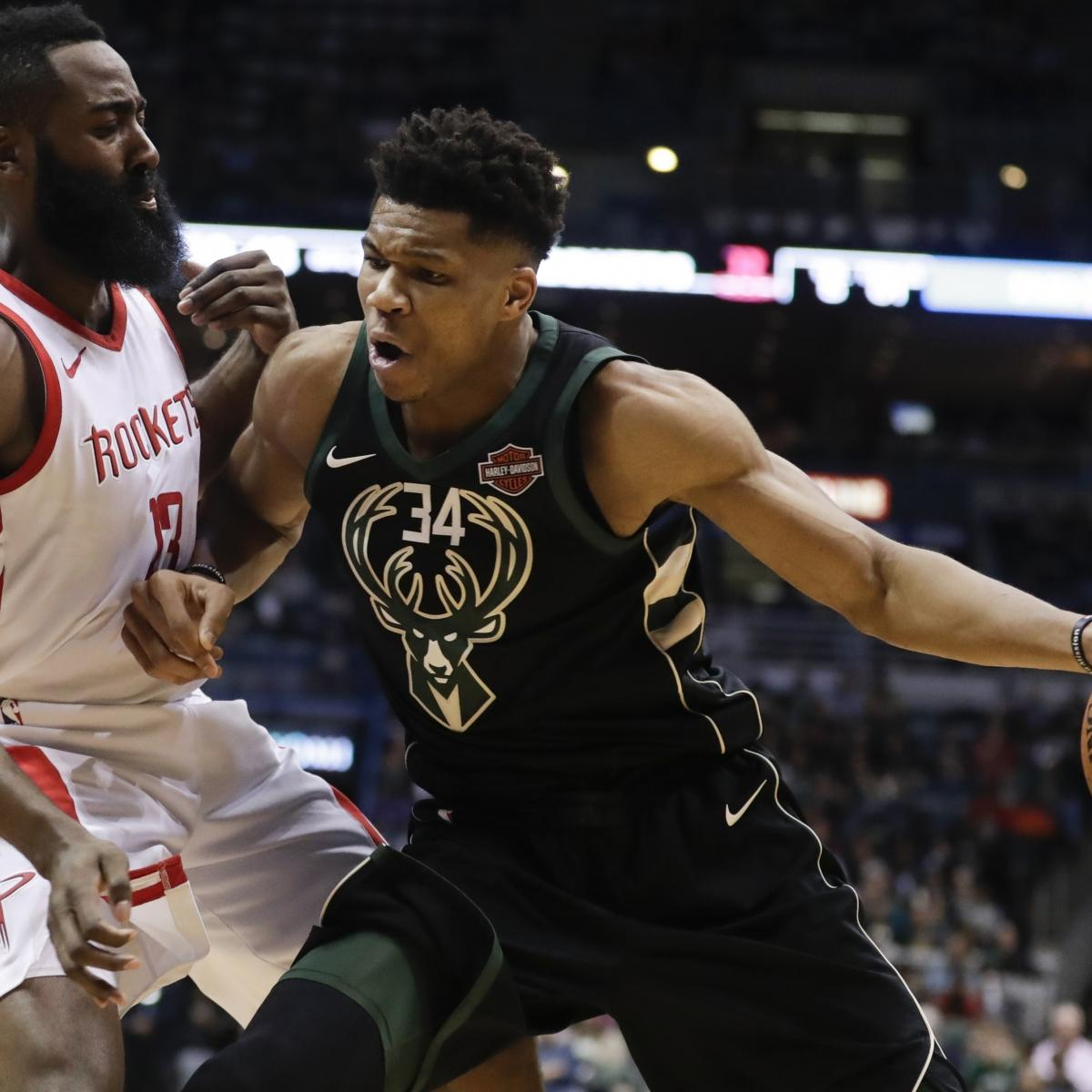 Nba Rookie Award Predictions For 2018 19 Season: James Harden, Giannis Antetokounmpo, Paul George Named