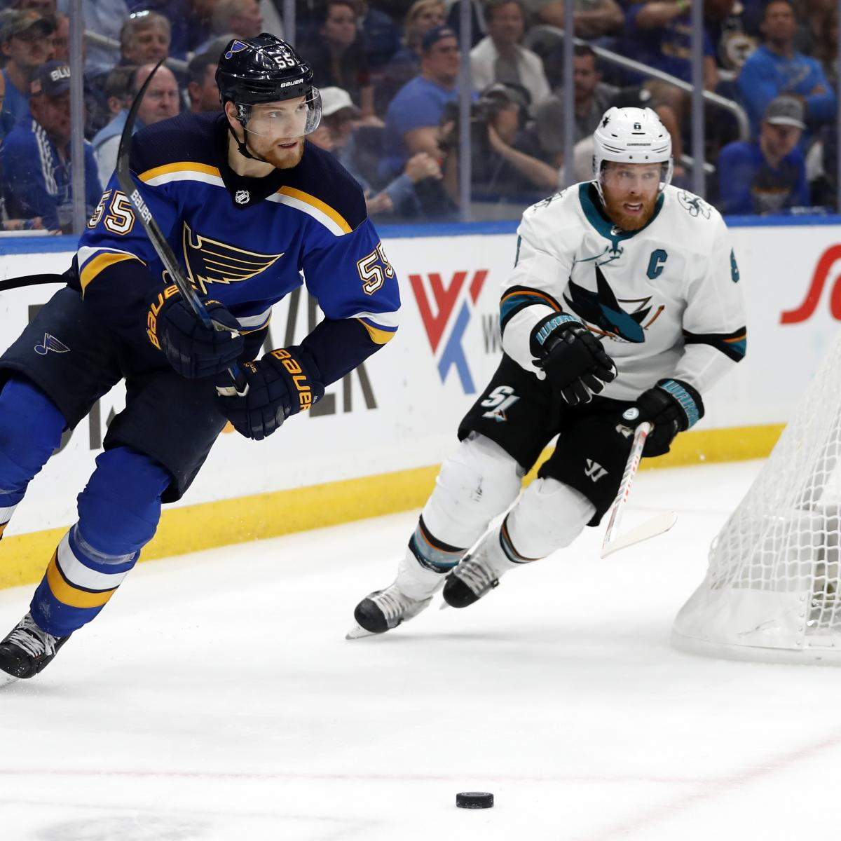 NHL Playoffs 2019: Game 5 TV Schedule And Odds For Sharks
