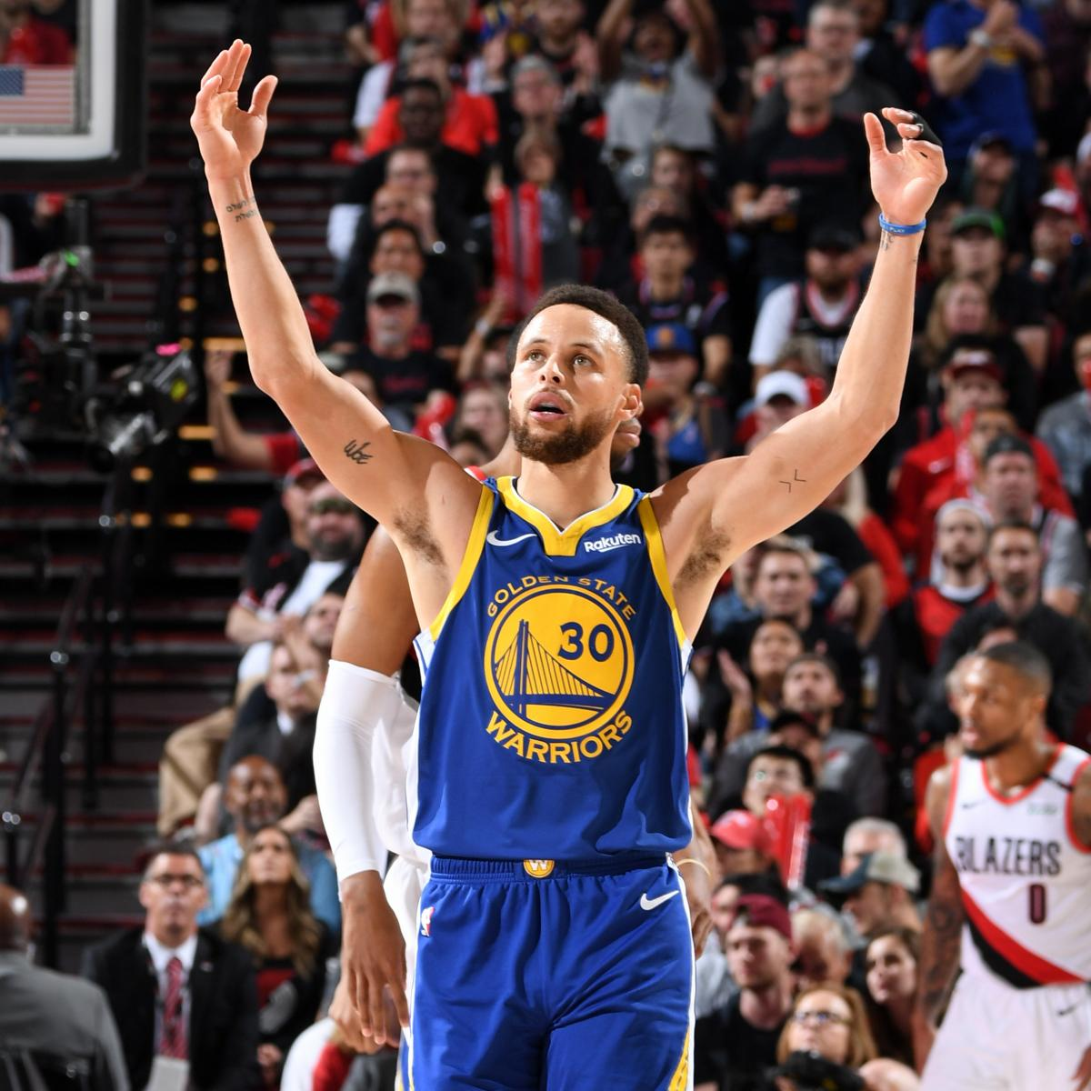 Blazers Game 3: Steph Curry, Warriors On Brink Of NBA Finals Berth After