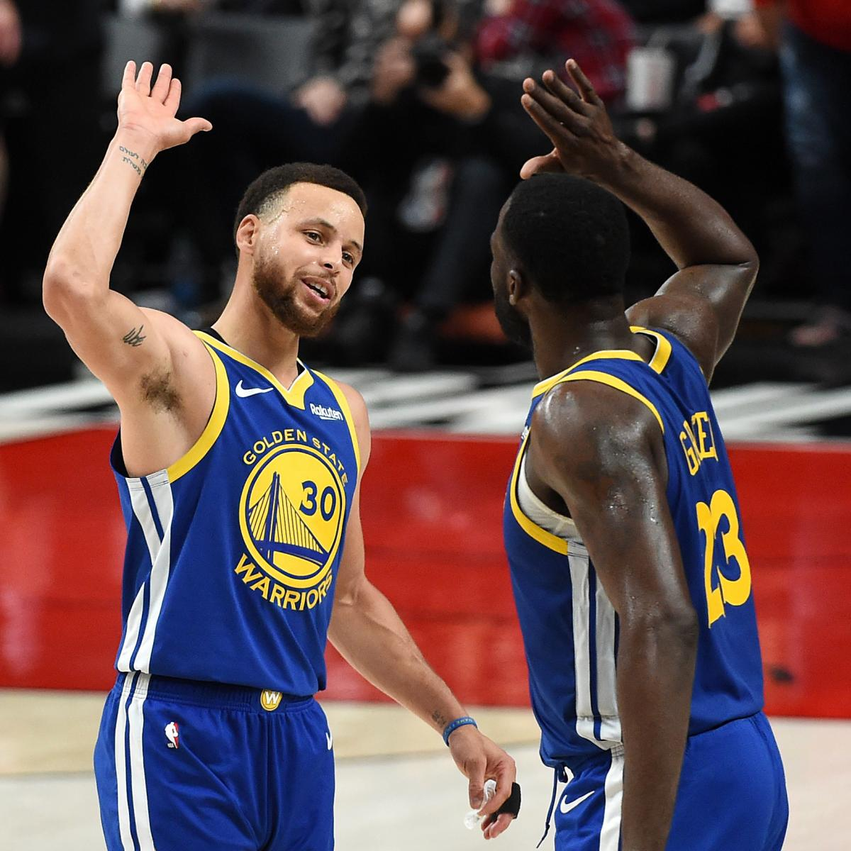 Bleacher Report Nba Staff S 2019 Playoff Predictions: NBA Playoff Schedule 2019: TV Info, Predictions For