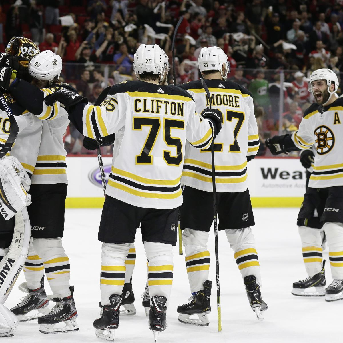 NHL Playoff Bracket 2019: Updated Conference Finals
