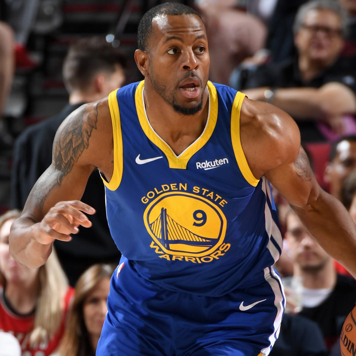 Blazers Injury Report: Andre Iguodala Ruled Out For Warriors Vs. Blazers Game 4