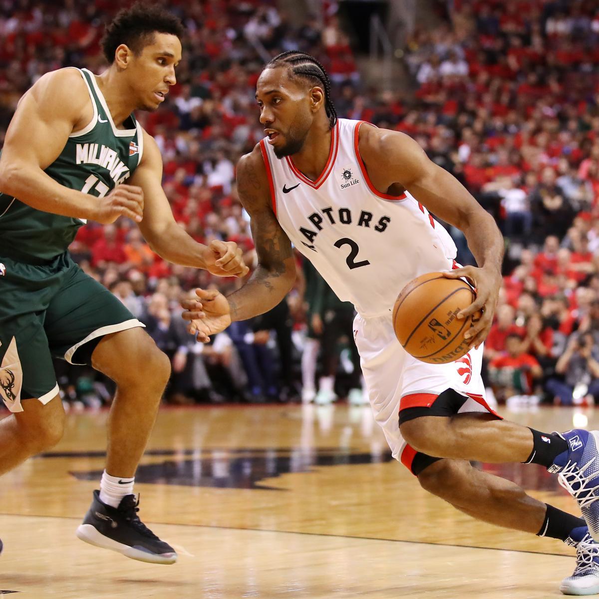 Kawhi Leonard's 36 Leads Raptors To Series-Saving Game 3