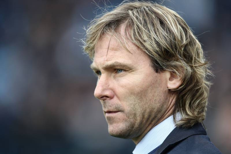 3205102af Juventus FC vice president Pavel Nedved looks on prior to the Italian Serie  A football match