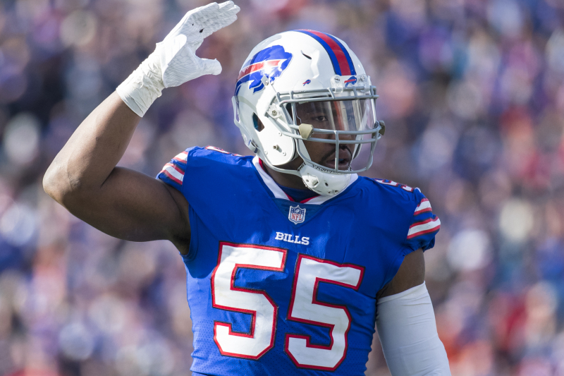 Report: Bills, Jerry Hughes Agree to 2-Year Contract Extension Worth Up to $23M