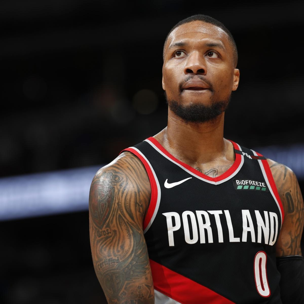 Portland Trail Blazers Contracts: Report: Damian Lillard, Blazers 'Expected' To Agree To 4