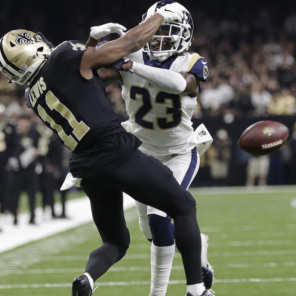 Report: NFL Competition Committee Given Power to Change Pass-Interference Replay