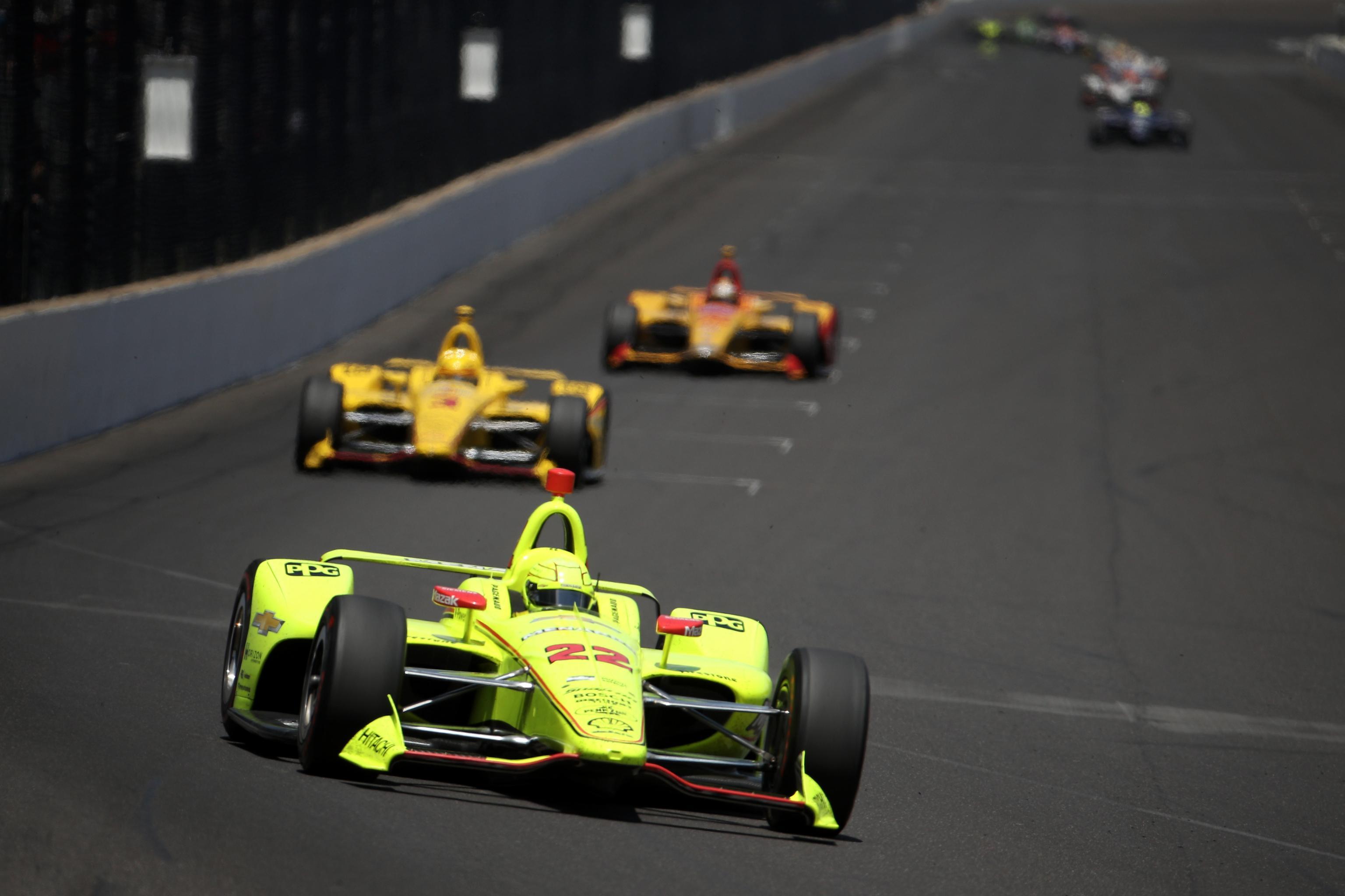 penske indy 500 drivers 2018