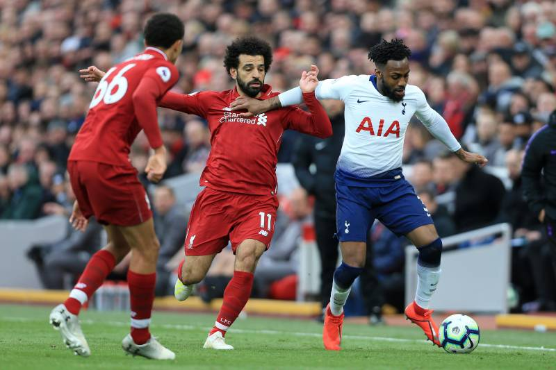 46c9106e54b Liverpool's Mo Salah and Tottenham's Danny Rose will be a showdown to watch  in the 2019