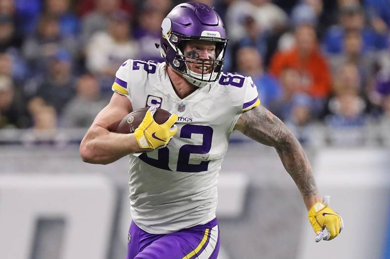 low priced 809cb ccea5 Kyle Rudolph, Vikings Reportedly Agree to 4-Year, $36M ...