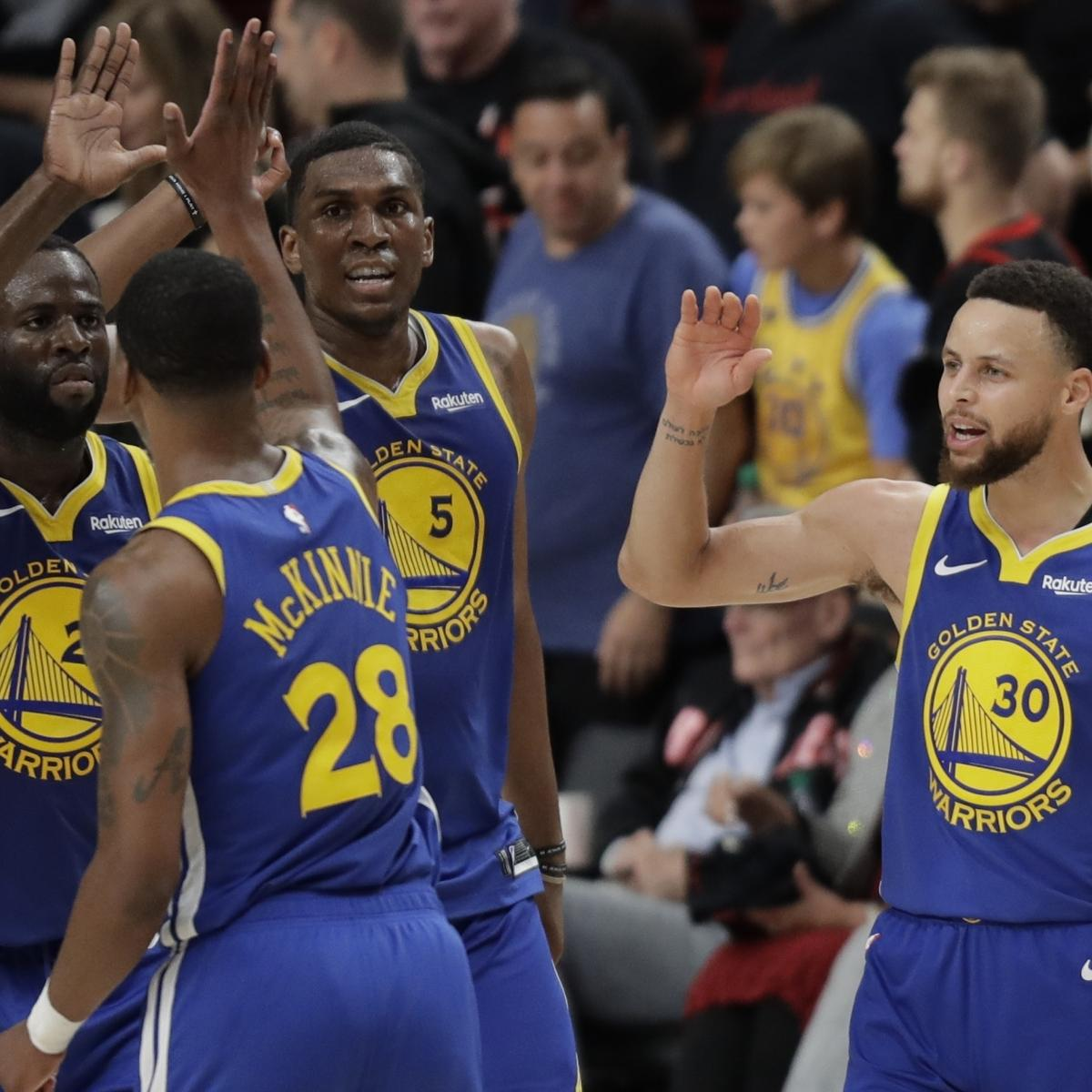 Houston Rockets Vs Golden State Warriors Lineup: NBA Finals 2019: Early Odds, Schedule As Warriors Await