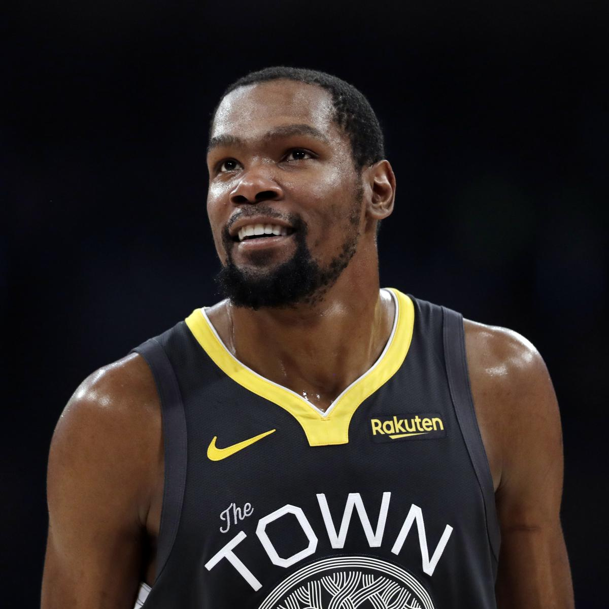 Kevin Durant 2019 Free-Agency Odds: Knicks, Clippers Lead