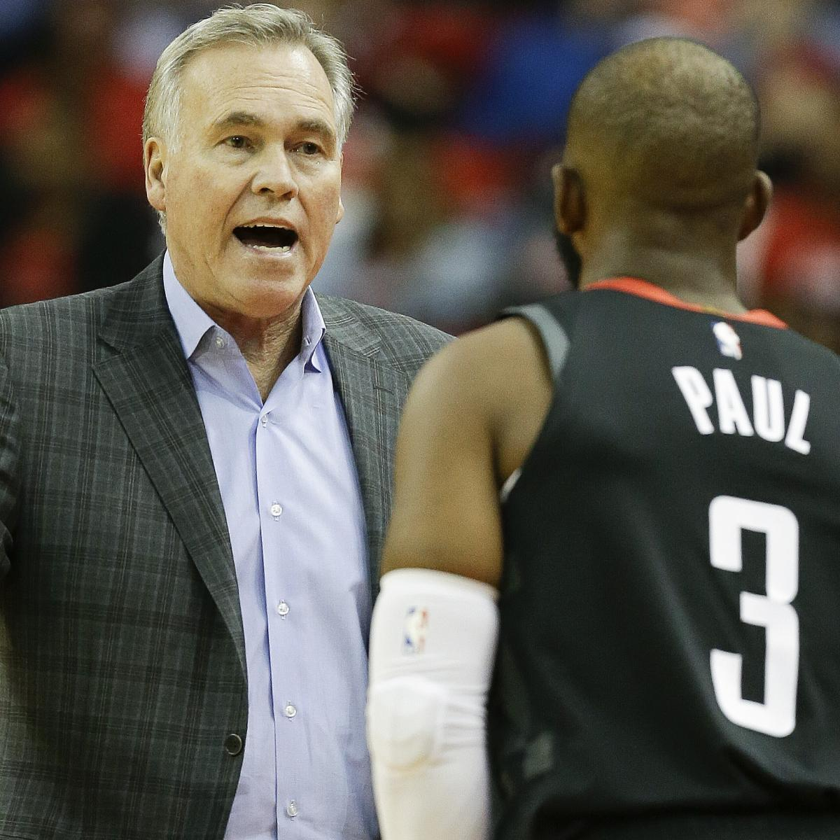Houston Rockets Defensive Coach: Rockets Rumors: Chris Paul Met With Mike D'Antoni About
