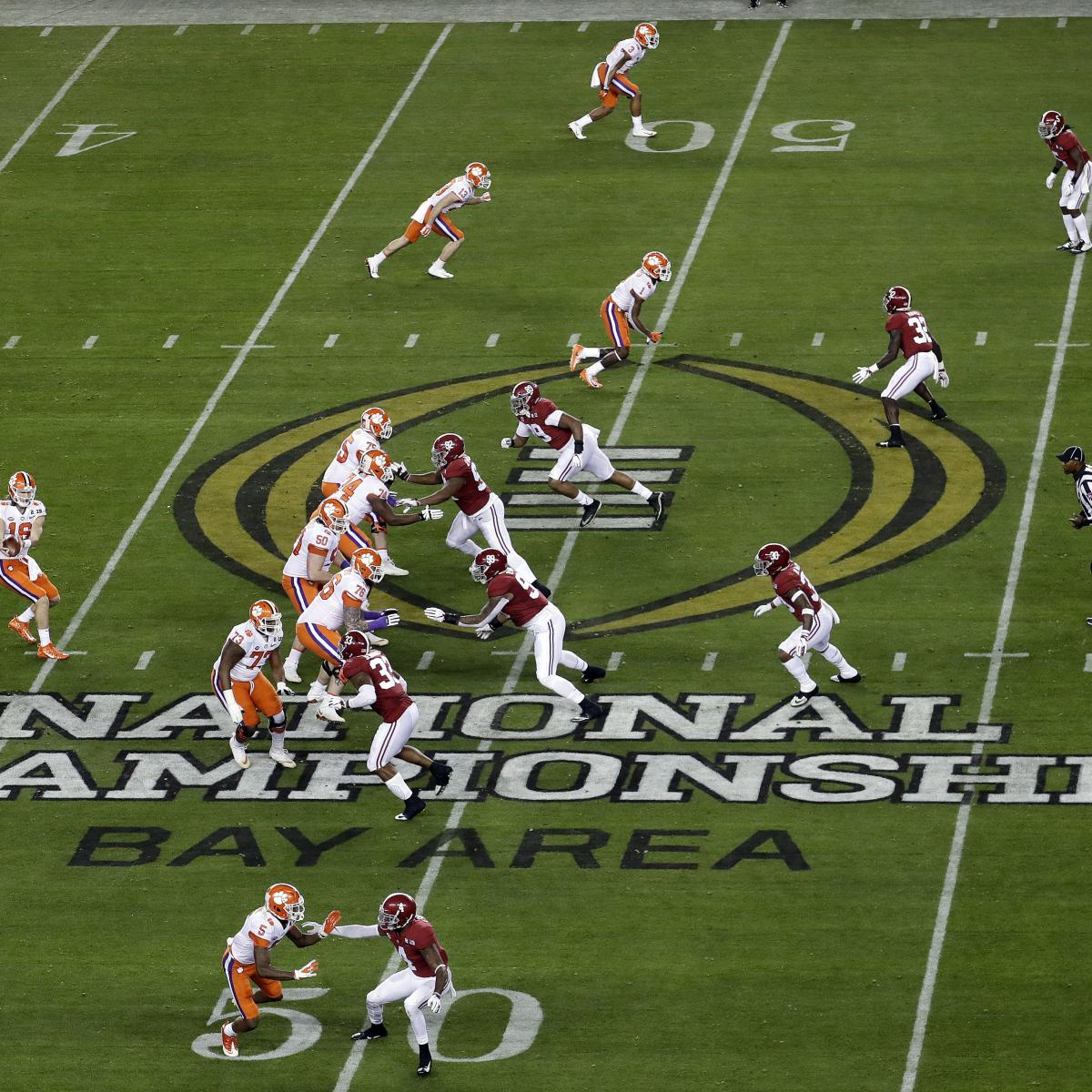 2020 College Football Playoff Championship Schedule