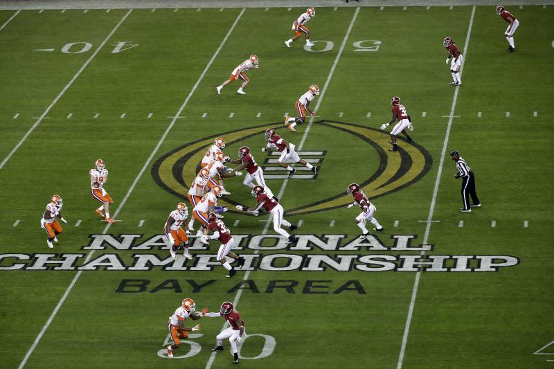 Football Bowl Games 2020.2020 College Football Playoff Championship Schedule
