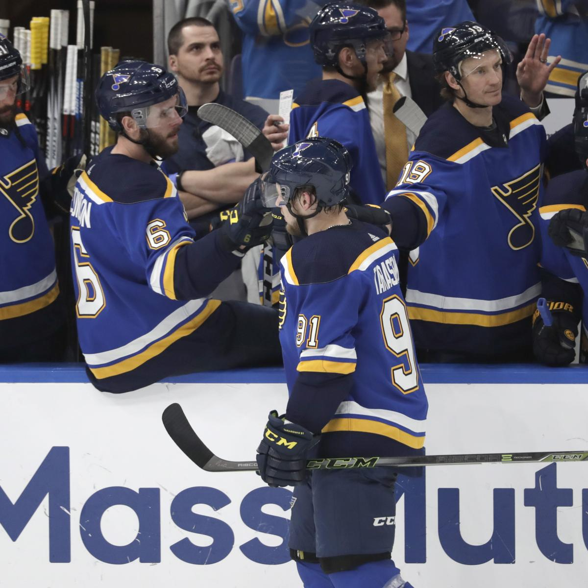 NHL Stanley Cup Final 2019: Odds, TV Schedule, Preview For