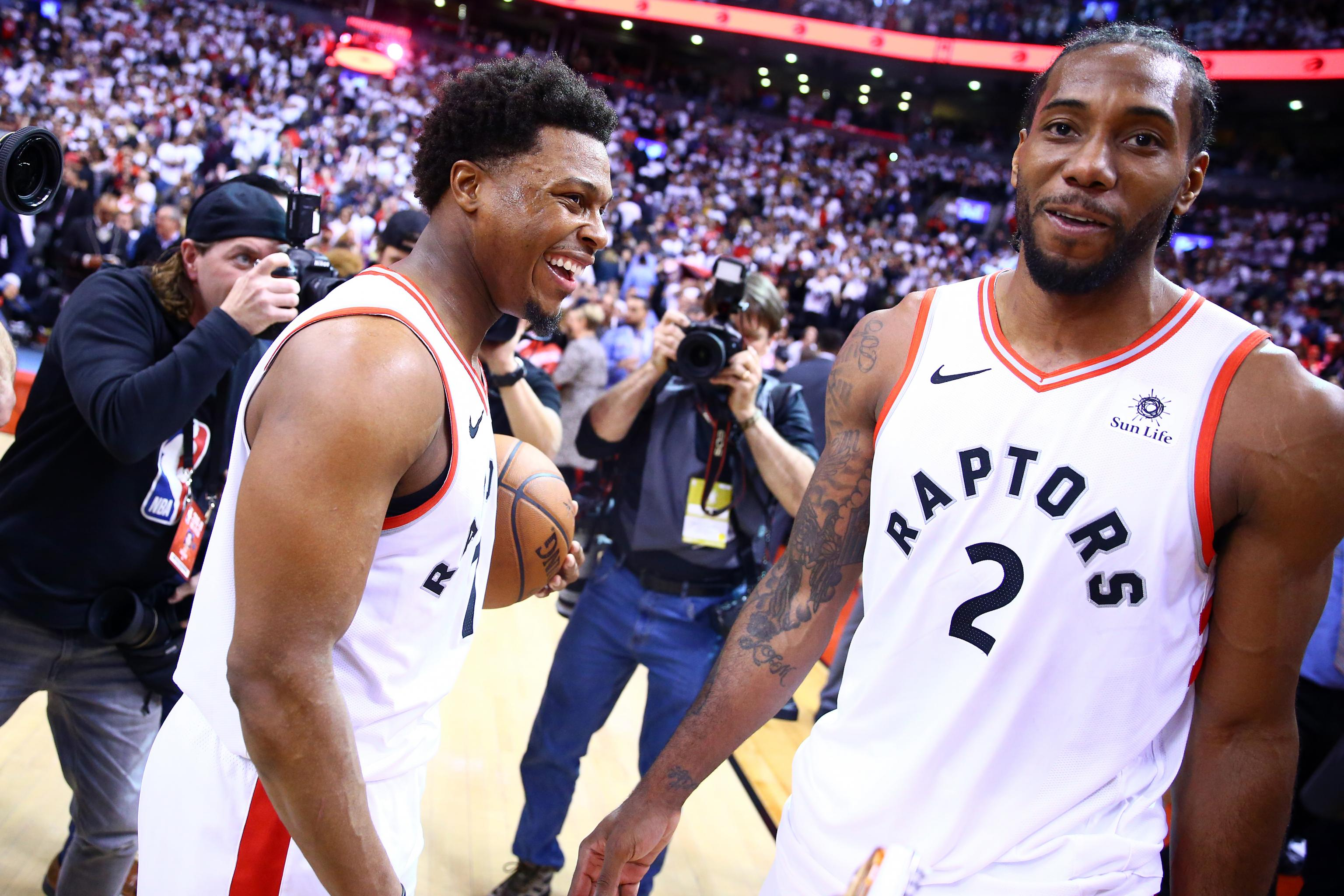 4b6be31a475 Raptors  Kyle Lowry on Kawhi Leonard   How He Approaches S--t Is  Unbelievable