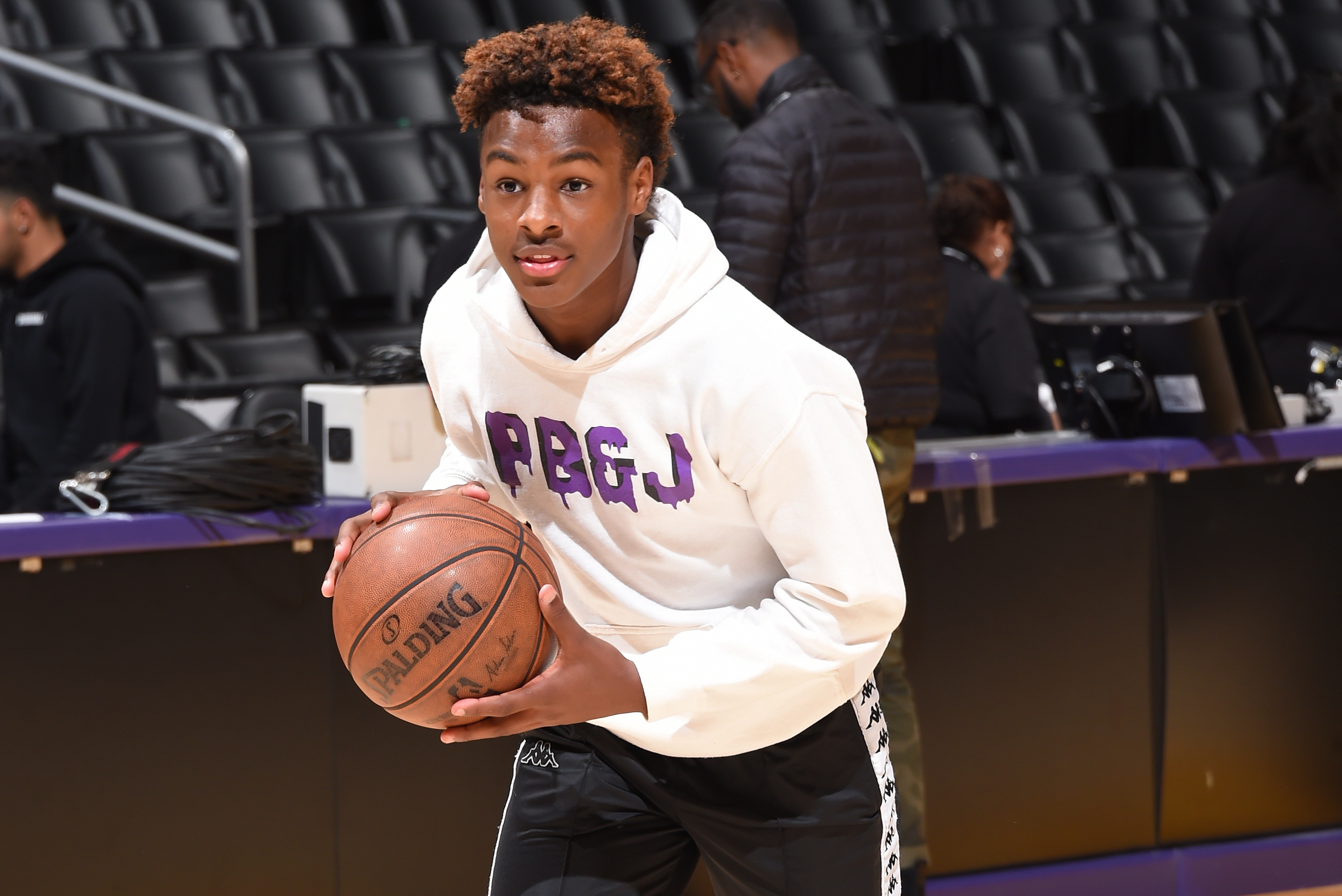 promo code 5ff83 da409 Highlights: Bronny James Leads Blue Chips to Easy Win at LA ...
