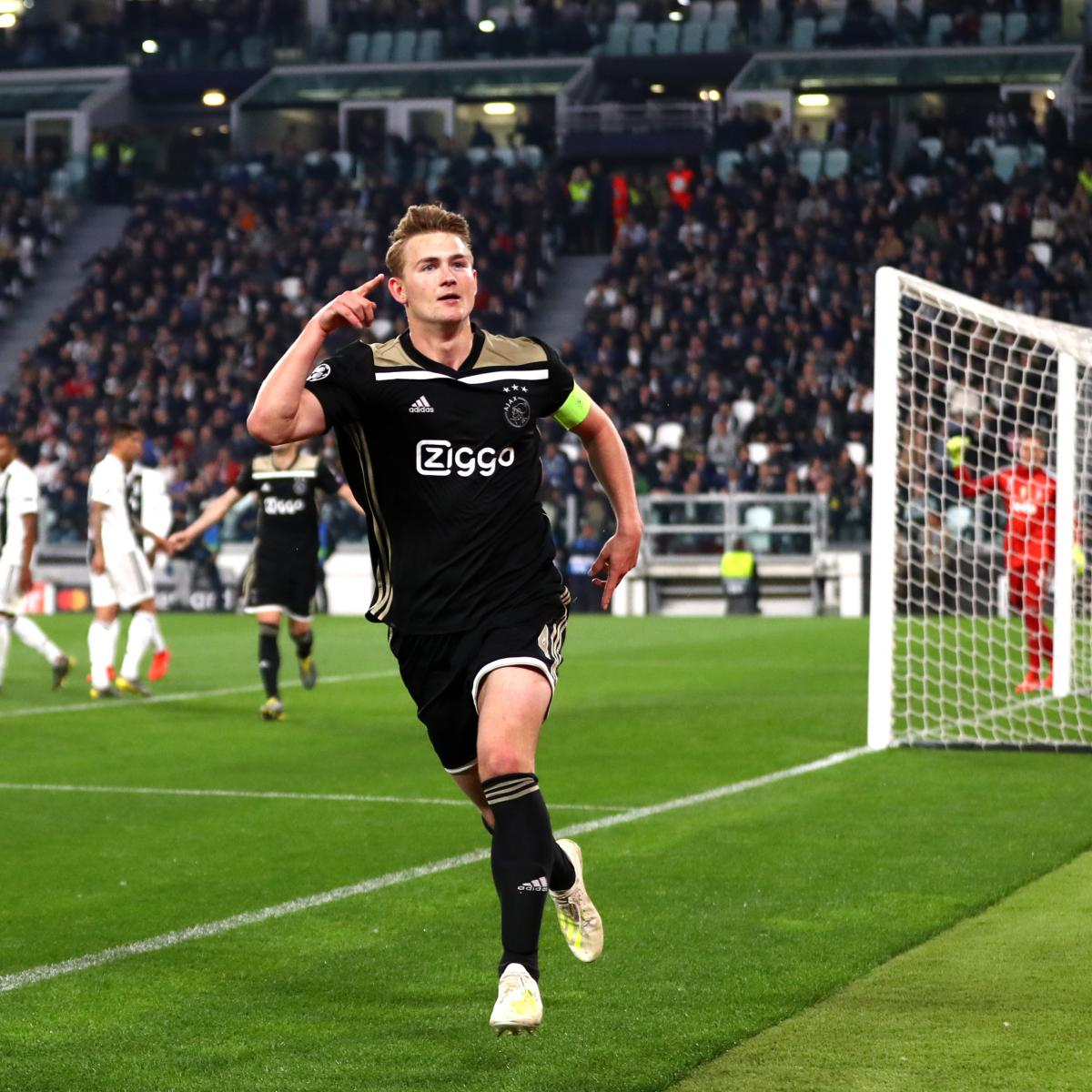 Manchester United Latest Transfer Window: Report: Manchester United 'Rule Out' Matthijs De Ligt