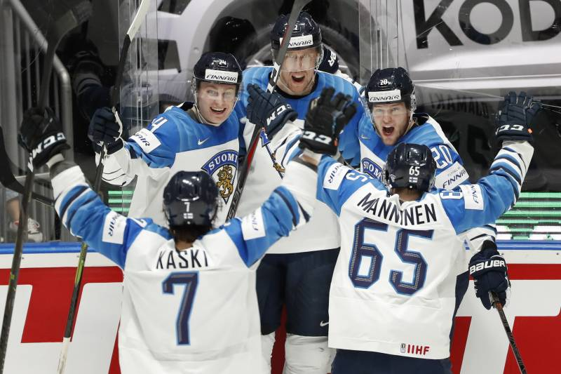 Marko Anttila Finland Beat Canada To Win 2019 Hockey World