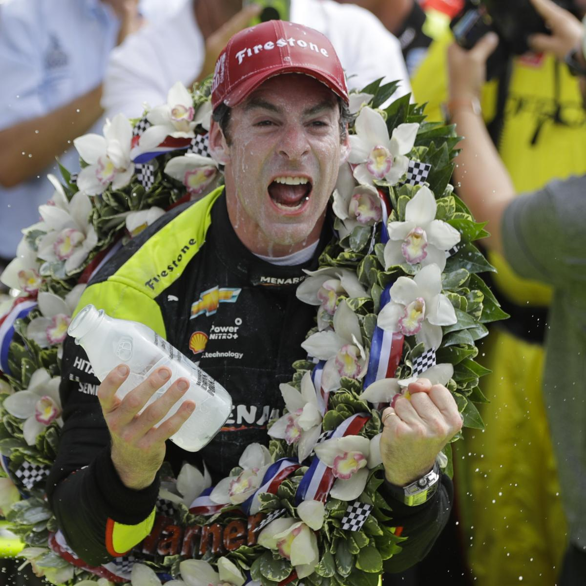 Simon Pagenaud wins Indianapolis 500