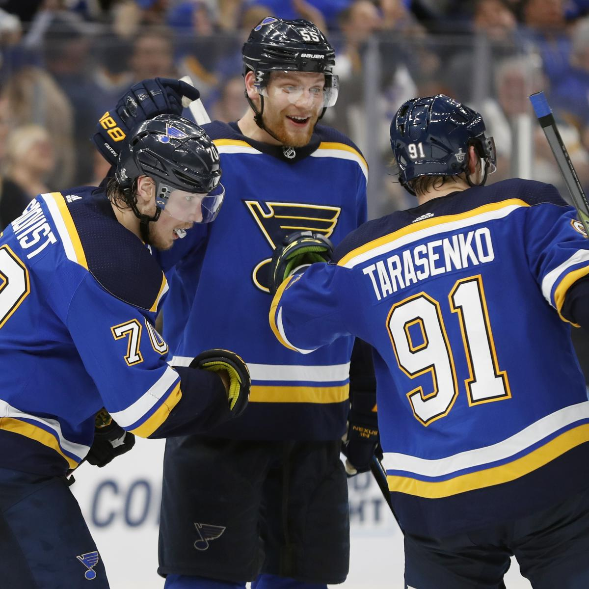 NHL Stanley Cup Final 2019: Game 1 Odds And Blues Vs