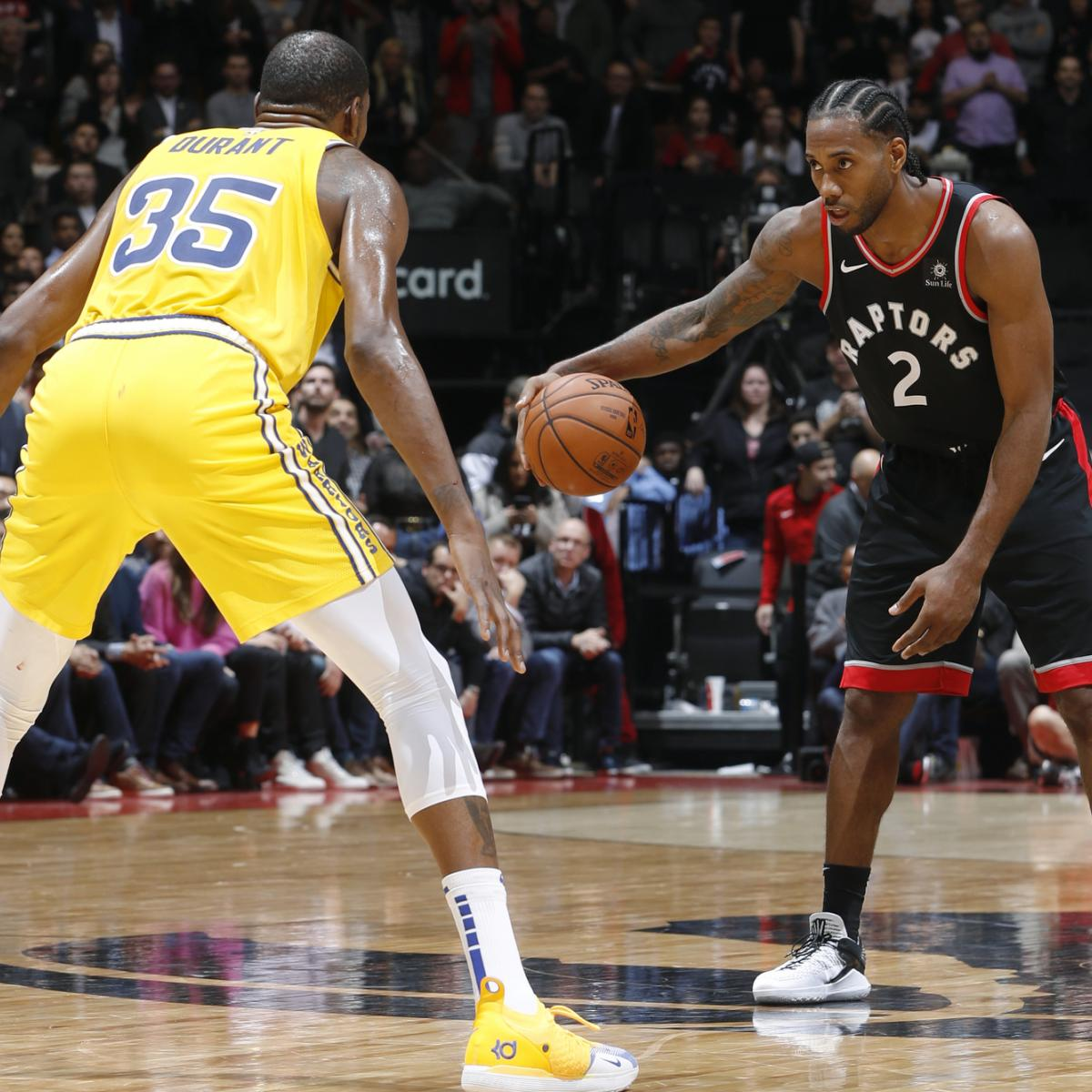 NBA Finals 2019: Dates And ABC Tipoff Times Schedule For